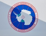 The NSF Logo for the US Antarctic Program.