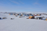 Science equipment at the South Pole.