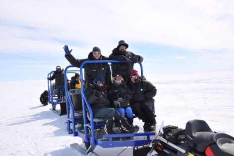 Sledding from the Basler to the Emperor Penguins