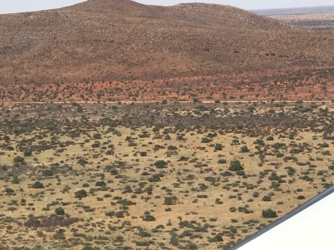 A parting view of the Tswalu landscape