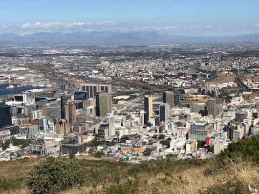 View of Cape Town from Signal Hill