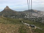 Tram ride to top of Table Mountain