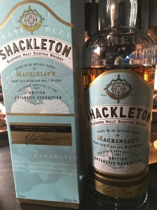 One of the 5 bottles of Shackleton our group consumed.