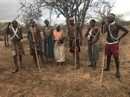 We are introduced to the Hadzabe clan.